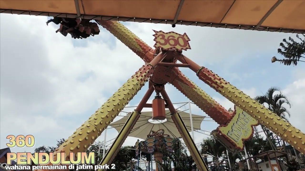 360 Pendulum Wahana Permainan Jatimpark 2 Jawa Timur Youtube