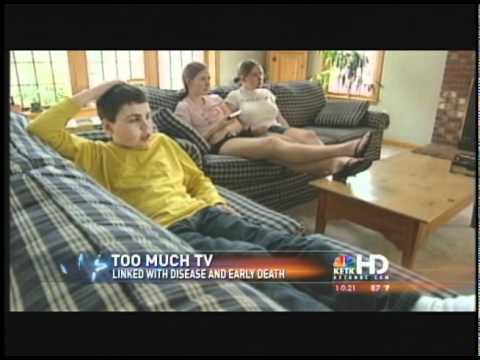 Too Much TV Bad For Your Health?