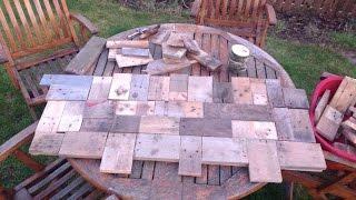 Driftwood Mirror & Pallet Wood Art Teaser.