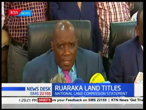 NLC exonerates self from alleged dubious payment in Ruaraka land saga | KTN News Desk