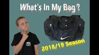 What's in my Bag 2018/19 Season   Young Goalkeepers Kit Bag   Football Goalie Kit