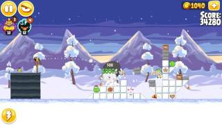 Angry Birds Seasons, Wreck the Halls, 1-6, 73300
