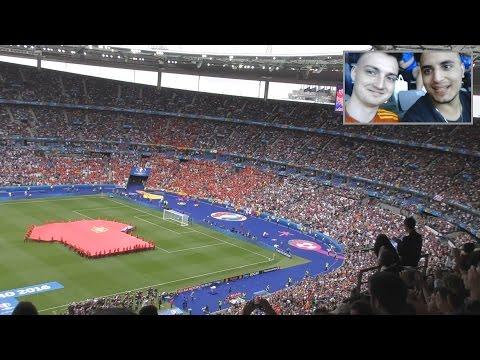 EM 2016 - Italien vs. Spanien | Vlog aus Paris