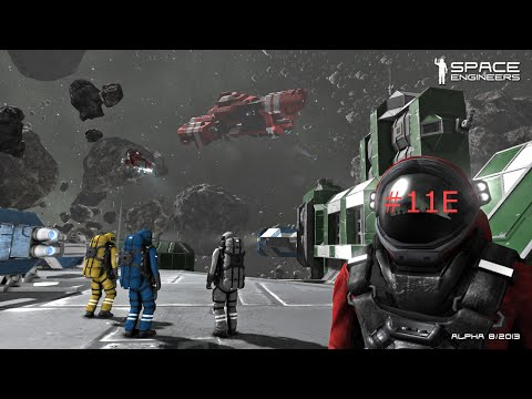Let's Play: Space Engineers Surveyor E11e.
