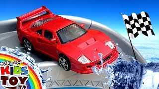 Cartoon about cars. Cool Racing on different cars TaTaToyzzz
