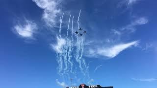 Flyover at Texas Tech-Kansas Game (Oct. 20th, 2018)
