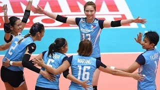 Philippines's best match against the powerhouse Thailand team