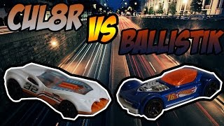 hot wheels duel cul8r vs ballistik