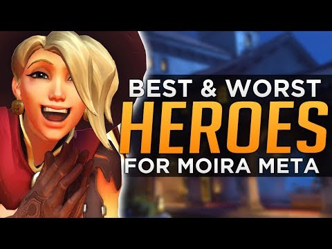 Overwatch: BEST and WORST Heroes Season 7 - Moira Meta Discussion