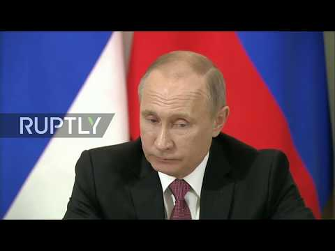 LIVE: Putin and Vucic hold join press conference in Moscow
