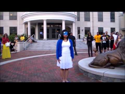Widener University: Zeta Phi Beta, Sorority, Inc. Spring Probate 2014