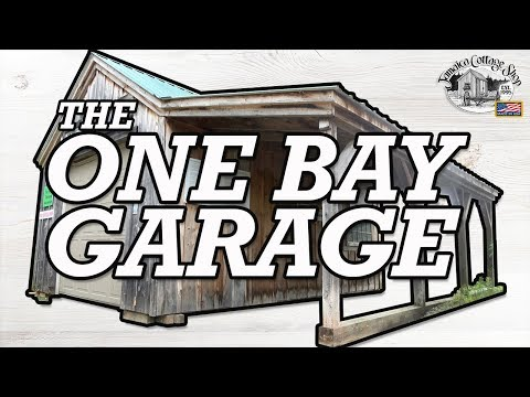 """""""one-bay-garage""""---build-garage-or-large-equipment-shed---diy-pre-cut-kit-(12x30-to-16x24)"""