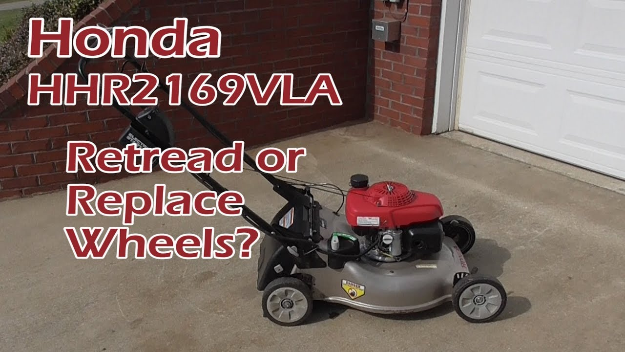 Retread Or Replace Honda Lawn Mower Wheels