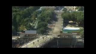Очистка Потемкинской лестницы в Одессе компанией Karcher(В августе 2009 г. к 215-ой годовщине со дня основания Одессы Kärcher с помощью моющих аппаратов высокого давления..., 2014-01-31T13:53:19.000Z)