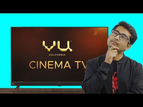 Vu (50 inches) 4K Cinema TV - Better than Mi TV 4X?