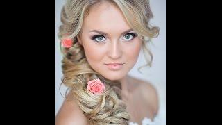 Свадебная прическа на длинные волосы(Подписывайтесь на мой канал) И следите за новыми видео ;) музыка http://www.jamendo.com., 2014-01-28T17:41:31.000Z)