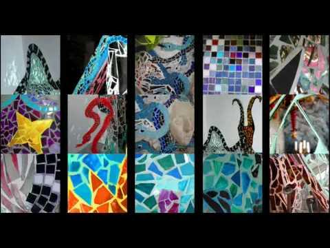 Sonnenküche Mosaik Kunst Von Inge Agnes Preuschoff Perrier   YouTube