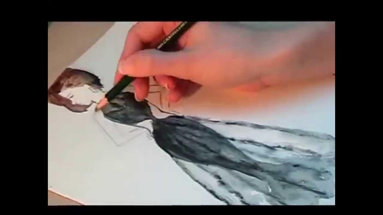 EIGENER ENTWURF - schwarzes Kleid - Fashion - YouTube