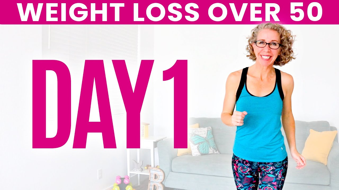 DAY ONE – Weight Loss for Women over 50 😅 31 Day Workout Challenge