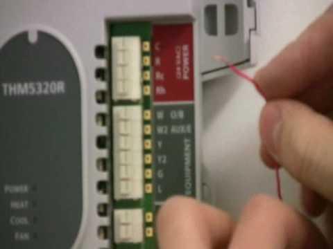 honeywell wireless thermostat kit installation