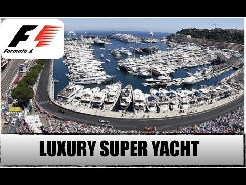 Monaco F1 Grand Prix Onboard a Luxury Super Yacht!!! (Captain's Vlog 78)