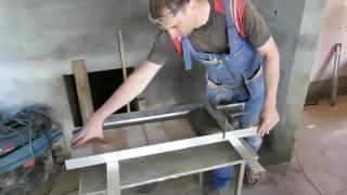 Укладываем кафель в котельной (серия 2)