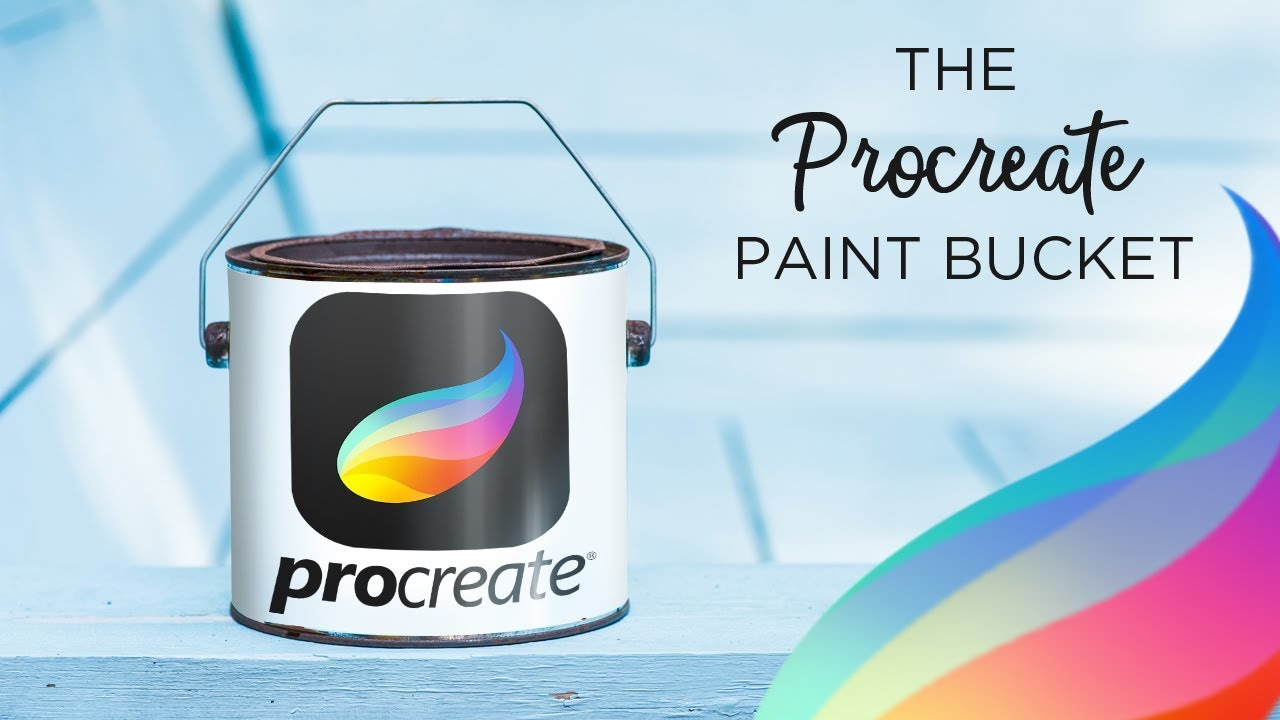 PROCREATE - Paint bucket tool and Gradients
