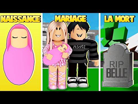 DE NAISSANCE A MARIAGE A LA MORT SUR BROOKHAVEN | ROBLOX BROOKHAVEN RP | MISLICIOUS PLAY