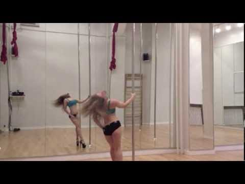 Pole Dance to Miley Cyrus at Fly Fitness NYC
