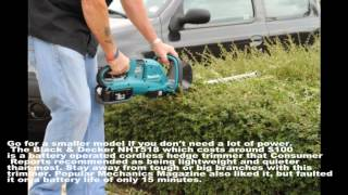 How to Find the Best Hedge Trimmers at the Best Price