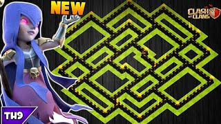 NEW TOWN HALL 9 FARMING/TROPHY BASE 2017! TH9 HYBRID BASE NOVEMBER EDITION!! - CLASH OF CLANS(COC)