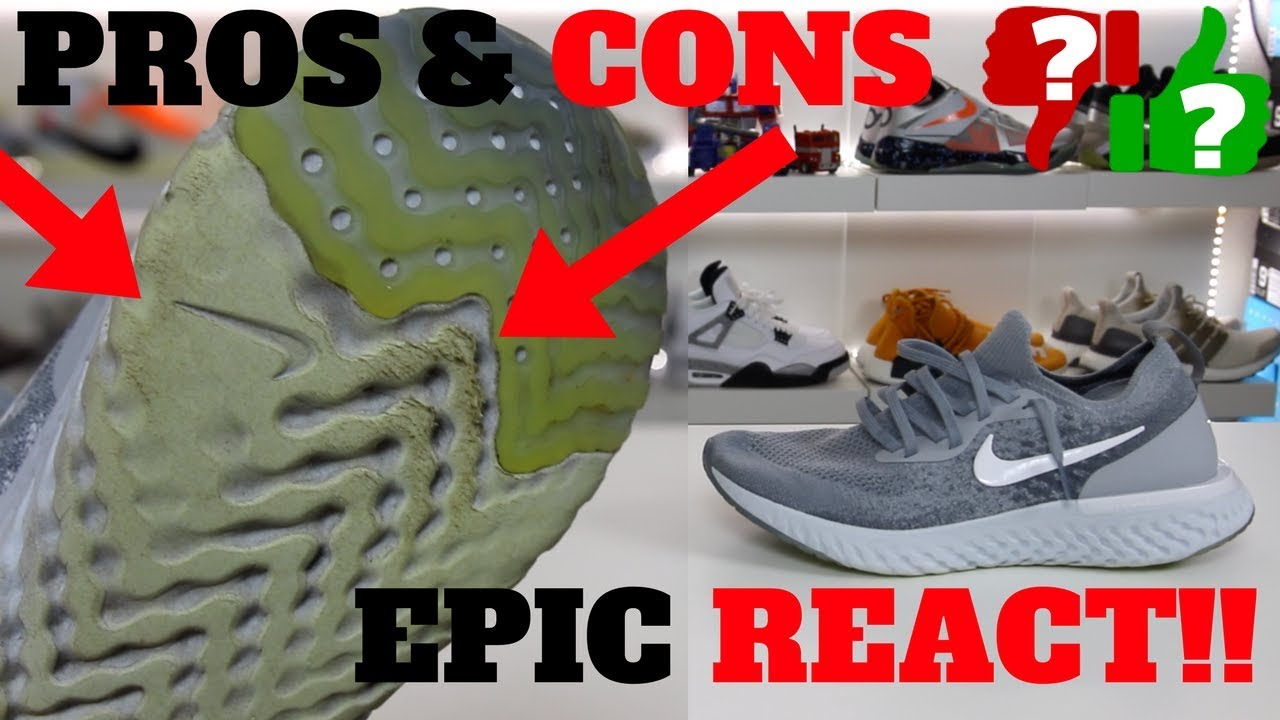 After Weeks Of Wearing: Nike EPIC REACT FLYKNIT PROS & CONS! (Worth Buying?)