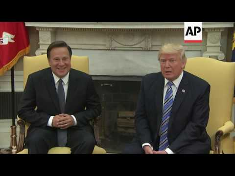 Trump Welcomes Panama President to White House