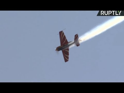 LIVE: Russian aerobatic teams perform maneuvers in Moscow Region