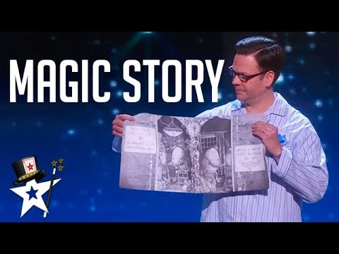 Magician Tells Judges A Story on America's Got Talent | Magicians Got Talent