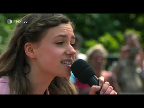 Marie Wegener - Königlich - ZDF Fernsehgarten 13.05