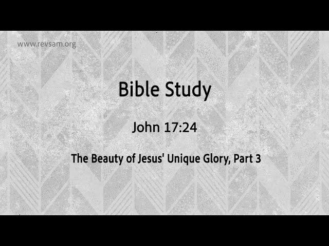 The Beauty of Jesus' Unique Glory (Part-3) | Jeevan Chelladurai | Tuesday Service | AFT Church