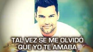 Tal Vez - Ricky Martin - Karaoke