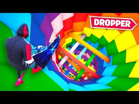 Can You Beat the *INSANE* Rainbow Dropper 2.0 In Fortnite!?