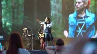 30 seconds to Mars - Closer To The Edge [part] (Maxidrom 2013)