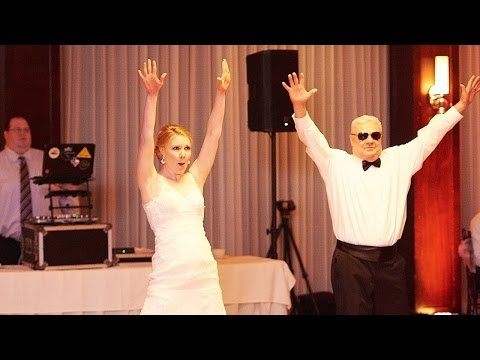 The BEST Surprise Wedding Dance with Dad