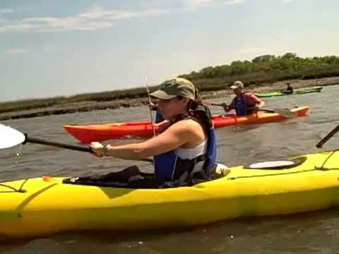 Kayaking at Crooked River State Park Cherry Point April 2, 2