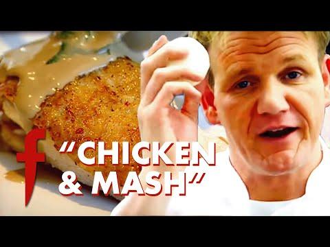 Gordon Ramsay Shows His Poached & Sautéed Chicken Recipe