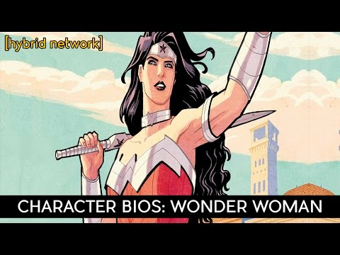 Character Bios: Wonder Woman (New 52)