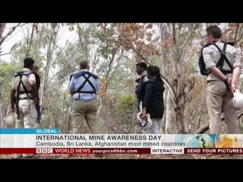 Landmine Free 2025: BBC World News coverage (5 April 2017)