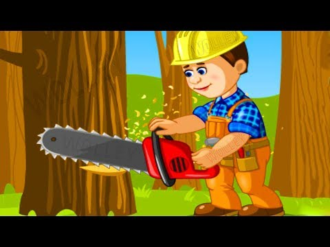 Kids Learn Construction Tools - Backhoe Excavator, Crane, Diggers - Builder Trucks Games for Kids