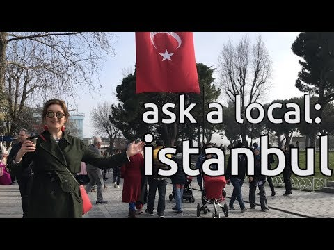 ask a local: istanbul | best views, bars and 80p kebabs | turkey vlog