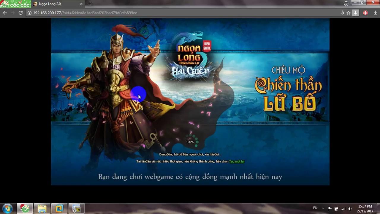 [toandaik] Share Webgame Ngọa Long Offline Việt hóa