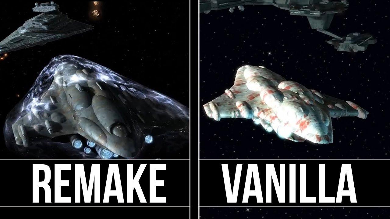 Star Wars Empire at War - Remake Vs Classic