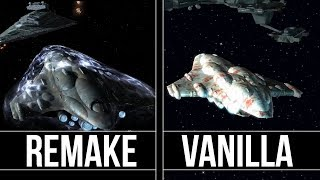 Star Wars Empire at War  - Remake Vs Classic
